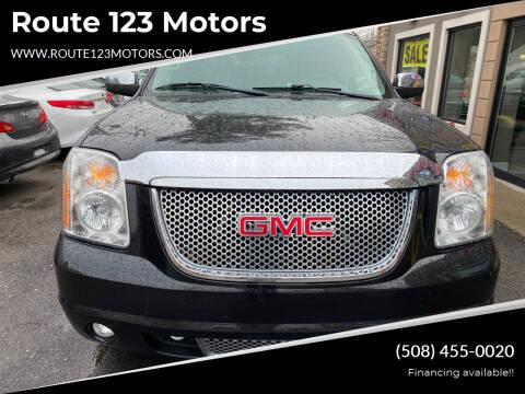2013 GMC Yukon for sale at Route 123 Motors in Norton MA
