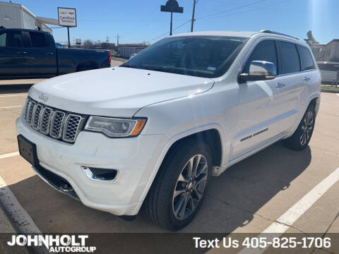 2018 Jeep Grand Cherokee for sale at JOHN HOLT AUTO GROUP, INC. in Chickasha OK