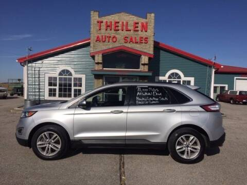 2018 Ford Edge for sale at THEILEN AUTO SALES in Clear Lake IA