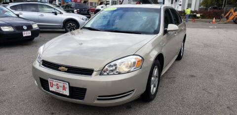 2009 Chevrolet Impala for sale at Union Street Auto in Manchester NH