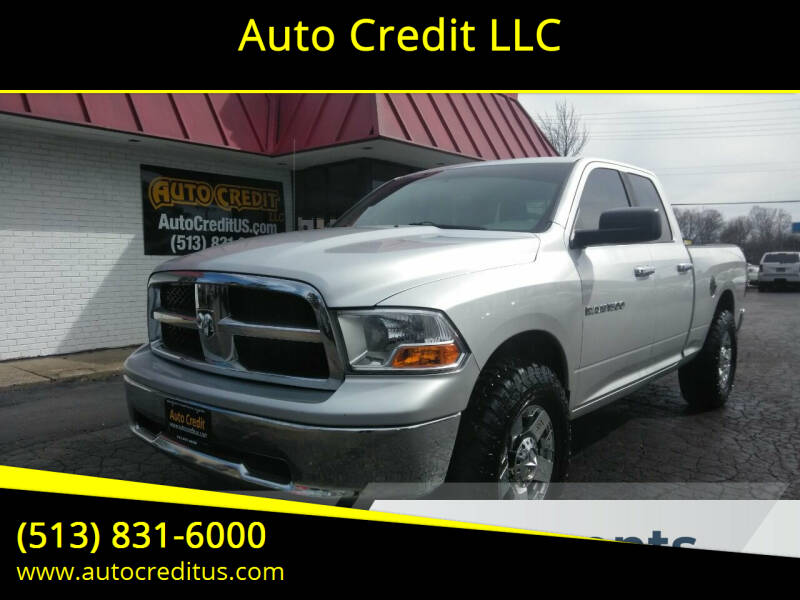 2011 RAM Ram Pickup 1500 for sale at Auto Credit LLC in Milford OH