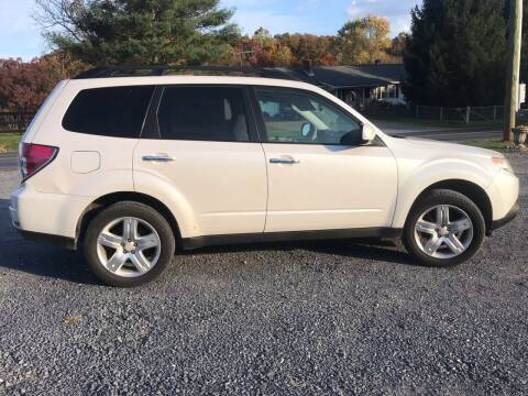 2009 Subaru Forester for sale at Full Throttle Auto Sales in Woodstock VA