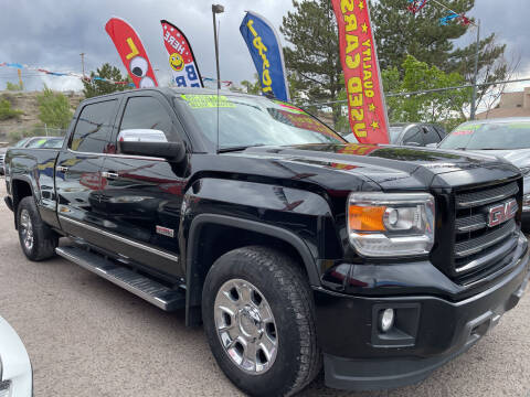 2014 GMC Sierra 1500 for sale at Duke City Auto LLC in Gallup NM