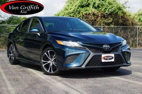 2019 Toyota Camry for sale at Van Griffith Kia Granbury in Granbury TX