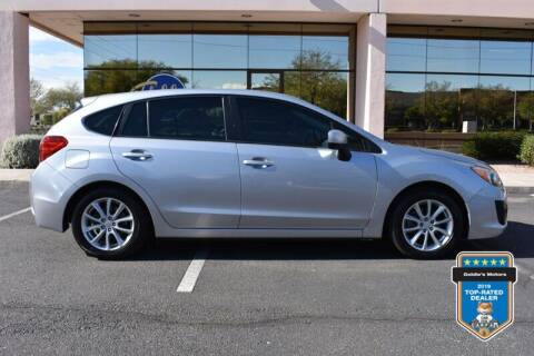 2014 Subaru Impreza for sale at GOLDIES MOTORS in Phoenix AZ