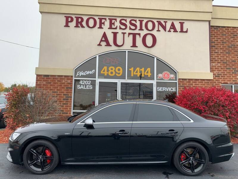 2018 Audi S4 for sale at Professional Auto Sales & Service in Fort Wayne IN