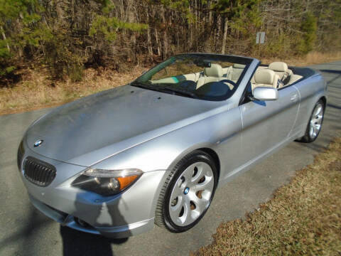 2007 BMW 6 Series for sale at City Imports Inc in Matthews NC