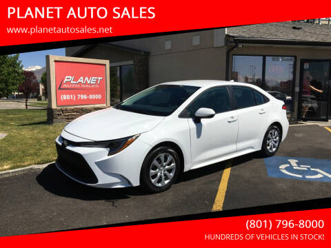 2021 Toyota Corolla for sale at PLANET AUTO SALES in Lindon UT