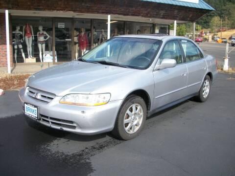 2002 Honda Accord for sale at Brinks Car Sales in Chehalis WA