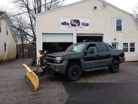 2002 Chevrolet Avalanche for sale at E & K Automotive in Derry NH