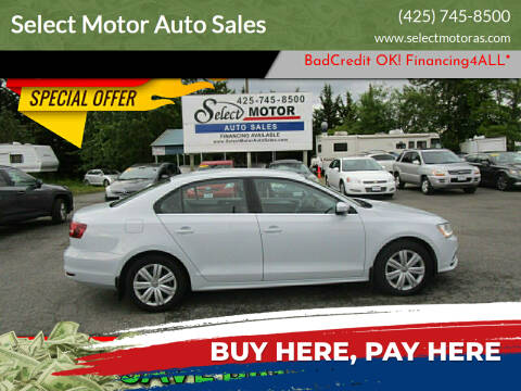 2017 Volkswagen Jetta for sale at Select Motor Auto Sales in Lynnwood WA