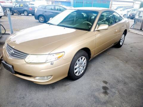 2002 Toyota Camry Solara for sale at Payless Car & Truck Sales in Mount Vernon WA