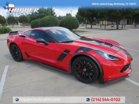 2016 Chevrolet Corvette for sale at HOPPER MOTORPLEX in Mckinney TX