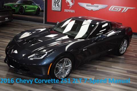 2016 Chevrolet Corvette for sale at Icon Exotics in Houston TX