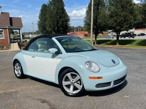 2010 Volkswagen New Beetle Convertible for sale at Mike's Wholesale Cars in Newton NC