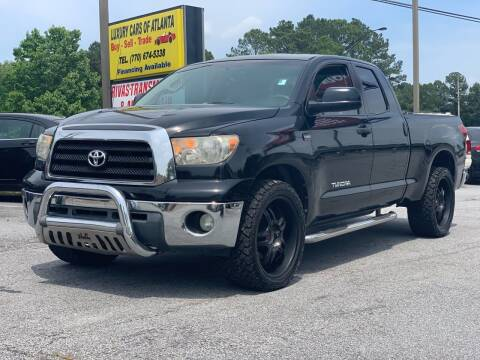 2008 Toyota Tundra for sale at Luxury Cars of Atlanta in Snellville GA
