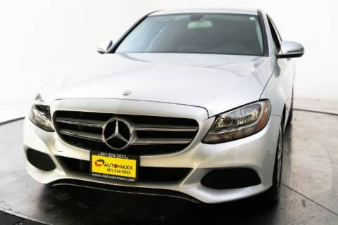 2016 Mercedes-Benz C-Class for sale at AUTOMAXX MAIN in Orem UT