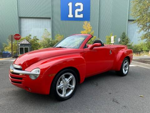 2003 Chevrolet SSR for sale at Top Notch Motors in Yakima WA