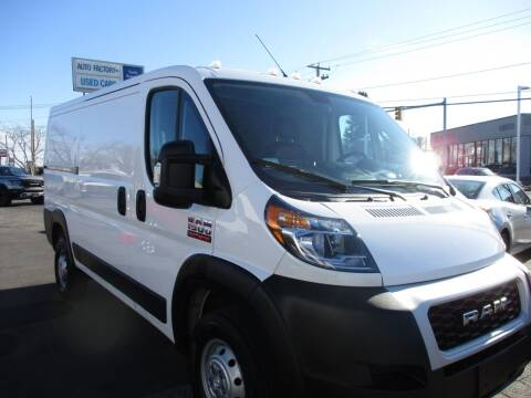 2020 RAM ProMaster Cargo for sale at AUTO FACTORY INC in East Providence RI