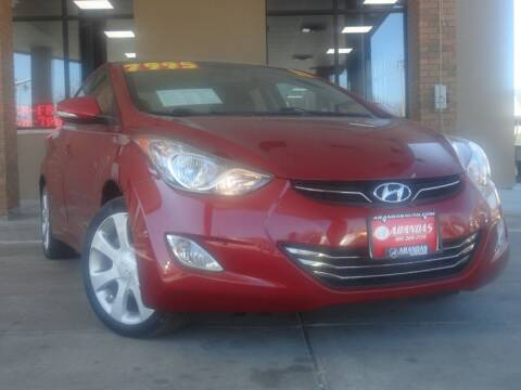 2011 Hyundai Elantra for sale at Arandas Auto Sales in Milwaukee WI