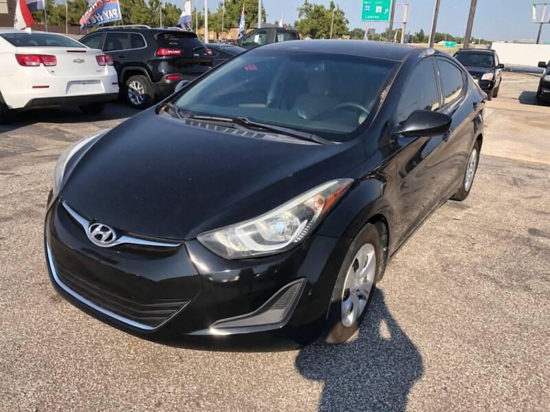 2016 Hyundai Elantra for sale at Ital Auto in Oklahoma City OK