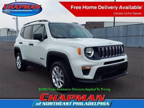 2019 Jeep Renegade for sale at CHAPMAN FORD NORTHEAST PHILADELPHIA in Philadelphia PA