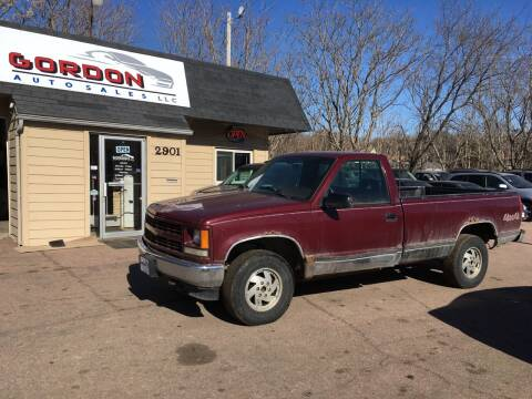 1995 Chevrolet C/K 2500 Series for sale at Gordon Auto Sales LLC in Sioux City IA
