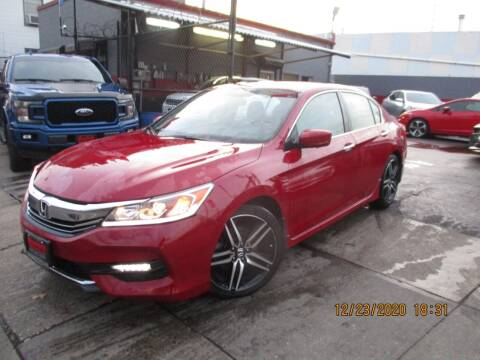 2017 Honda Accord for sale at Newark Auto Sports Co. in Newark NJ