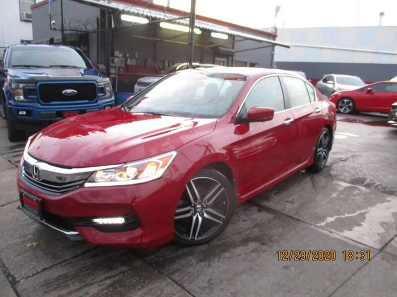 2017 Honda Accord for sale at Newark Auto Sports Co. in Newark NJ