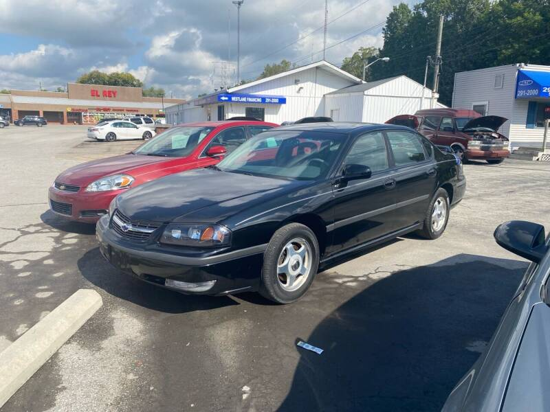 2001 Chevrolet Impala for sale at Augusta Motors Inc in Indianapolis IN