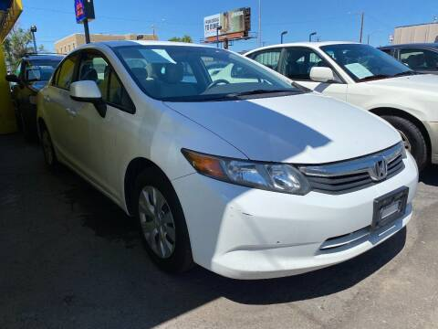2012 Honda Civic for sale at New Wave Auto Brokers & Sales in Denver CO