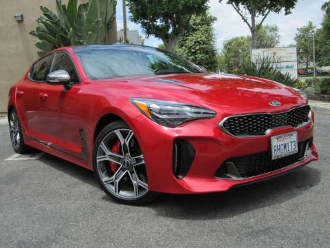 2018 Kia Stinger for sale at ORANGE COUNTY AUTO WHOLESALE in Irvine CA