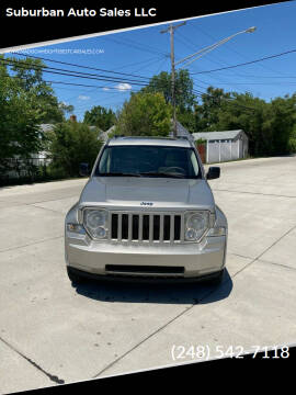 2008 Jeep Liberty for sale at Suburban Auto Sales LLC in Madison Heights MI