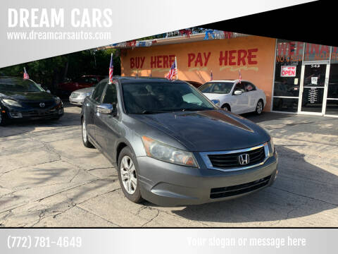 2010 Honda Accord for sale at DREAM CARS in Stuart FL