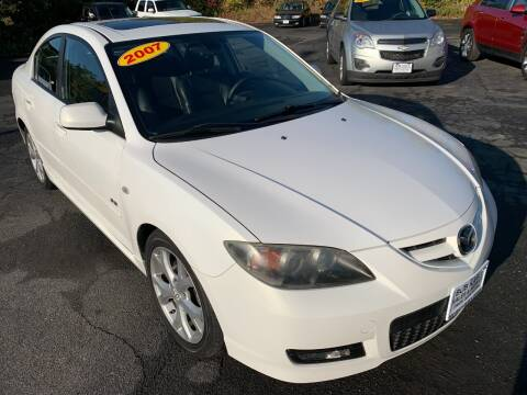 2007 Mazda MAZDA3 for sale at Bob Karl's Sales & Service in Troy NY