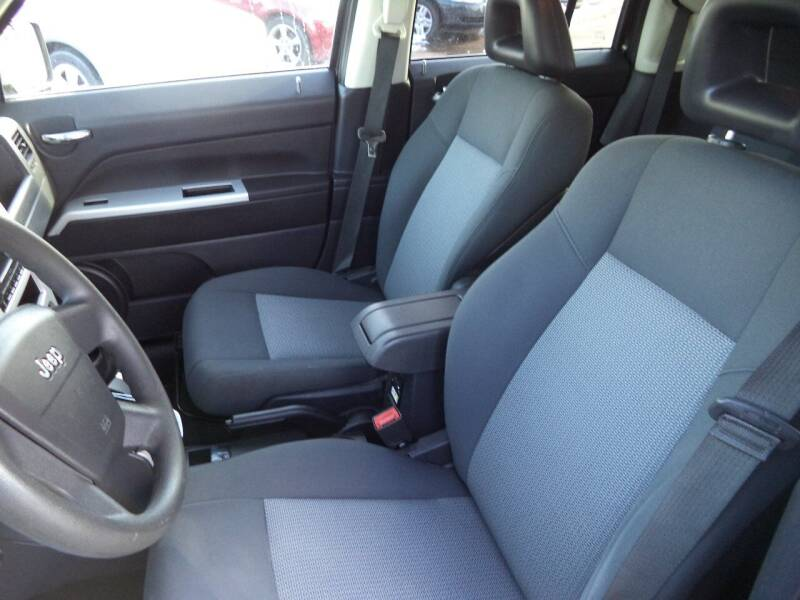 2008 Jeep Patriot 4x4 Sport 4dr SUV w/CJ1 Side Airbag Package - Sioux City IA
