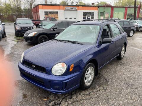 2002 Subaru Impreza for sale at ENFIELD STREET AUTO SALES in Enfield CT