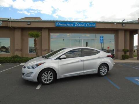 2016 Hyundai Elantra for sale at Family Auto Sales in Victorville CA