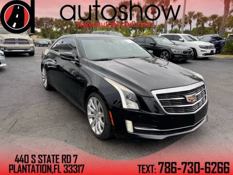 2015 Cadillac ATS for sale at AUTOSHOW SALES & SERVICE in Plantation FL