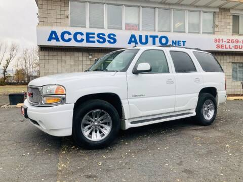 2003 GMC Yukon for sale at Access Auto in Salt Lake City UT