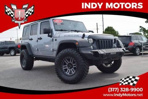 2017 Jeep Wrangler Unlimited for sale at Indy Motors Inc in Indianapolis IN