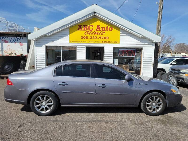 2007 Buick Lucerne for sale at ABC AUTO CLINIC - Chubbuck in Chubbuck ID