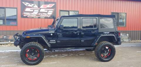 2017 Jeep Wrangler Unlimited for sale at SS Auto Sales in Brookings SD