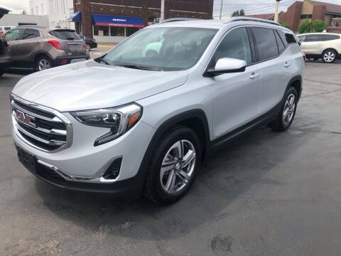 2019 GMC Terrain for sale at N & J Auto Sales in Warsaw IN