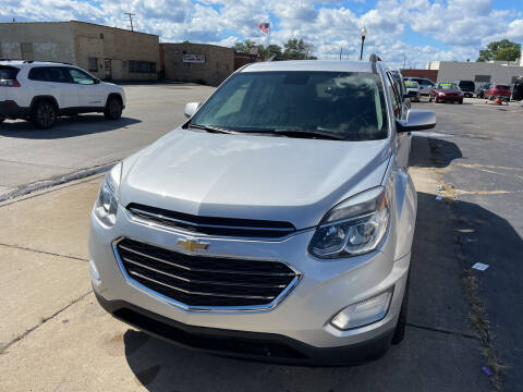 2017 Chevrolet Equinox for sale at National Auto Sales Inc. - Hazel Park Lot in Hazel Park MI