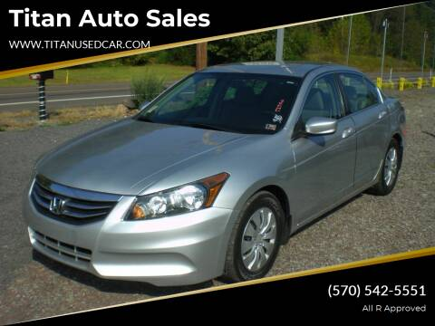 2012 Honda Accord for sale at Titan Auto Sales in Berwick PA
