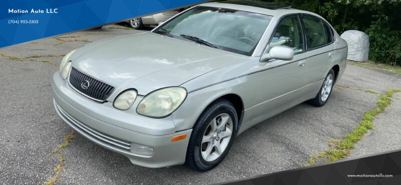 2002 Lexus GS 300 for sale at Motion Auto LLC in Kannapolis NC