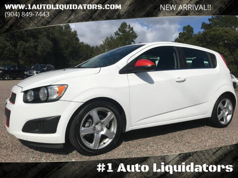 2015 Chevrolet Sonic for sale at #1 Auto Liquidators in Yulee FL