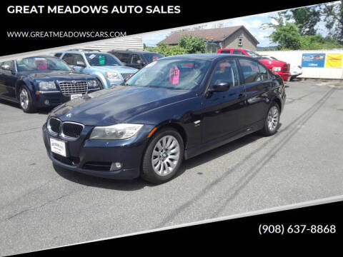 2009 BMW 3 Series for sale at GREAT MEADOWS AUTO SALES in Great Meadows NJ