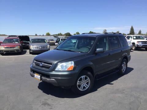 2004 Honda Pilot for sale at My Three Sons Auto Sales in Sacramento CA